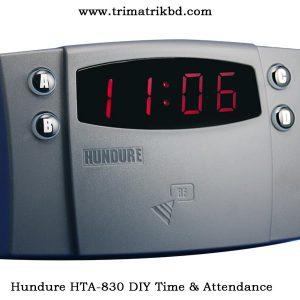 Hundure HTA 830 DIY Time Attendance; ZKTECO BANGLADESH