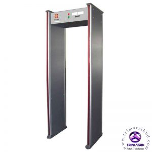 Archway Gate MCD 300 ZKTeco ZK-D4330 33 Zones Walk Through Metal Detector Gate