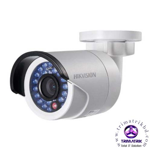 Hikvision DS 2CD2020F I 2MP IR Bullet Network Camera Bangladesh Trimatrik
