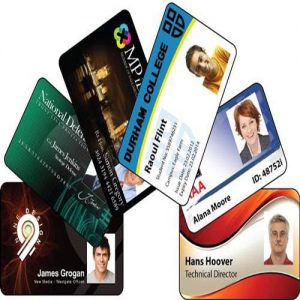 Proximity ID Card With Print