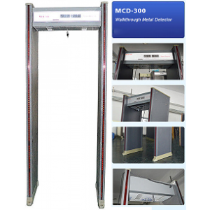 MCD 300 600x600 ZKTeco ZK-D4330 33 Zones Walk Through Metal Detector Gate