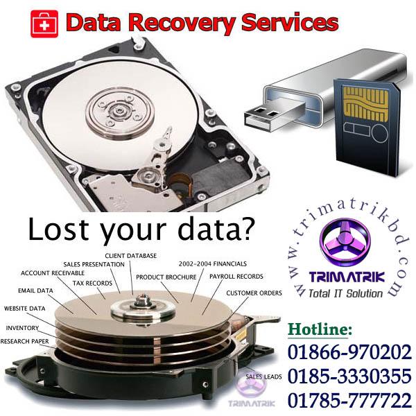 Data Recovery Bangladesh Trimatrik