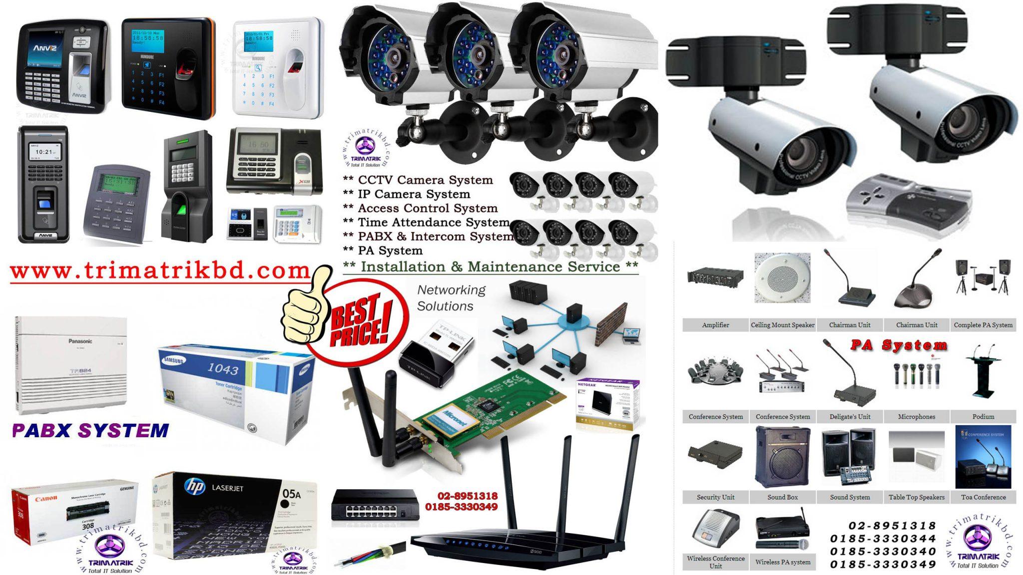 PA System Provider in Bangladesh, PA System Price in Bangladesh, TOA, BOSCH, AHUJA, HTDZ, ITC,Column Speaker,Ceiling Speaker,Amplifier Bangladesh,Microphone