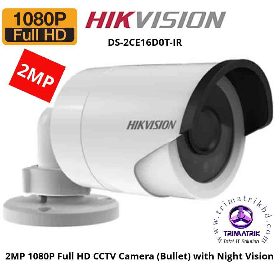 Hikvision DS-2CE16D0T-IRP Full HD1080P(2MP) HD Camera