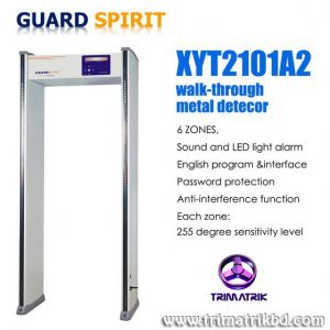 Guard Spirit XYT2101 A2 Bangladesh Trimatrik ZKTeco ZK-D4330 33 Zones Walk Through Metal Detector Gate