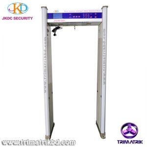 JKDM800 Bangladesh Trimatrik ZKTeco ZK-D2180S 18 Detection Zones Walk Through Metal Detector