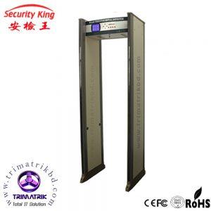 Security King walk through Archway Metal Detector door