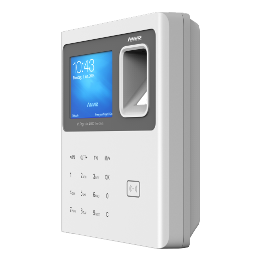 Anviz W1 Bangladesh Anviz W1 Colour Screen Fingerprint & RFID Clocking in Machine