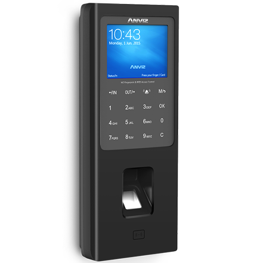 Anviz W2 Bangladesh Trimatrik bd Anviz W2 Color Screen Fingerprint & RFID