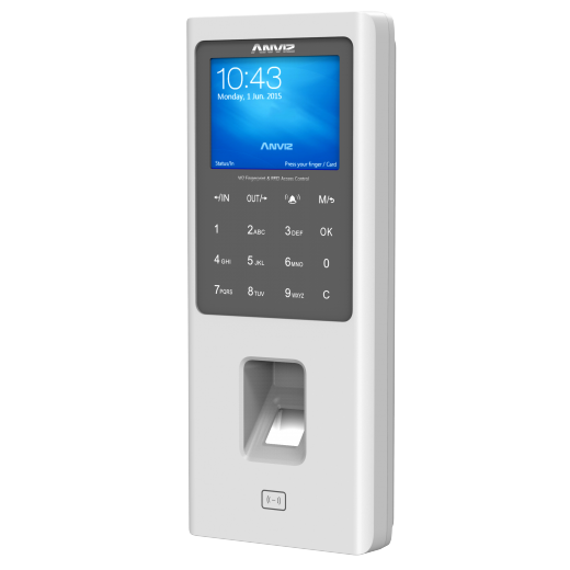 Anviz W2 bd - Anviz W2 Color Screen Fingerprint & RFID