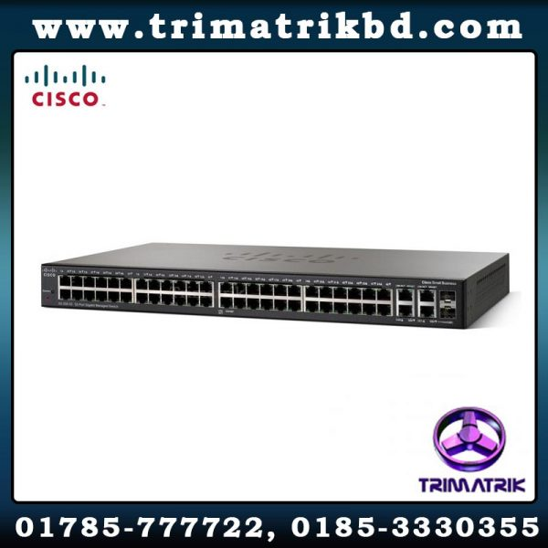 Cisco sg300 52 k9 managed switch