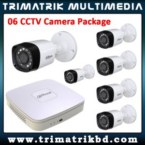 Dahua 06 CCTV Camera Package
