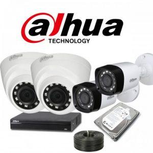 Dahua 04 CCTV Camera Package