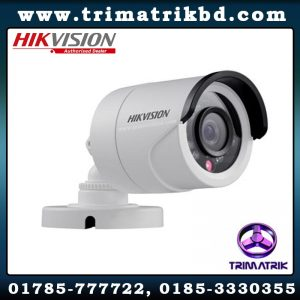 Hikvision DS 2CE16D0T IRPF Bangladesh Trimatrik Hikvision DS-2CE16D0T-IPECO 2MP Bullet Camera