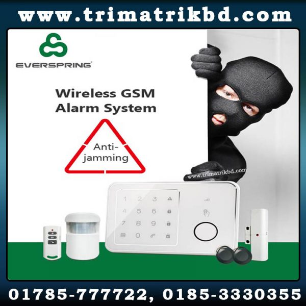 EVERSPRING GSM ALARM,EVERSPRING GSM ALARM BANGLADESH, Trimatrik