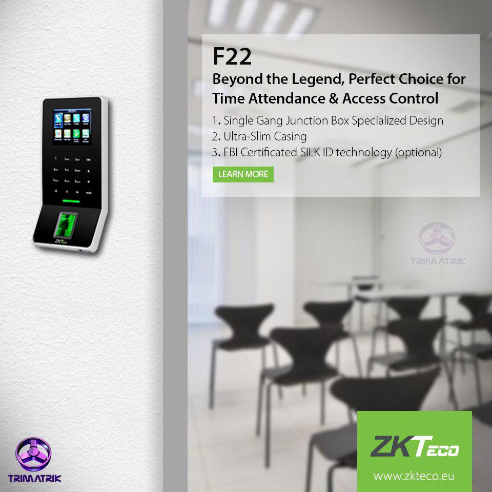 ZKTeco F22 Bangladesh
