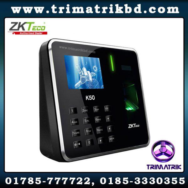 ZKTeco K50A Bangladesh, ZKTeco BD, ZKTeco K50, ZKTeco BD