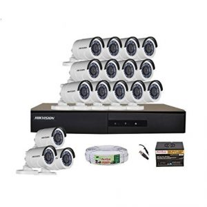 Hikvision CCTV BD Hikvision 08 IP Camera Package (2.0 Megapixel) (Limited Time Offer)