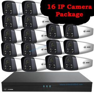 Jovision 16 IP Camera Package 4MP Hikvision 06 IP Camera Package (4.0 Megapixel)