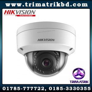 Hikvision DS 2CD1143G0 I Bangladesh Hikvision Bangladesh Trimatrik Hikvision DS-2CD2121G0-I 2MP H.265+ IR Fixed Dome Network Camera