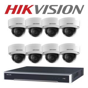 Hikvision 08 IP Camera Package