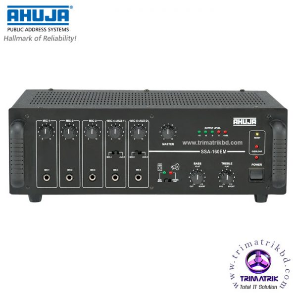 Ahuja SSA-160 Bangladesh, Ahuja SSA-160EM Price in BD