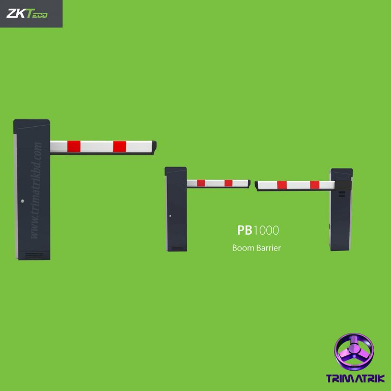 ZKTeco PB1060 Bangladesh Barrier Gate BangladeshTrimatrik ZKTeco FBL4222 Pro Flap Barrier Turnstile for additional Lane (w/ controller and fingerprint & RFID reader)