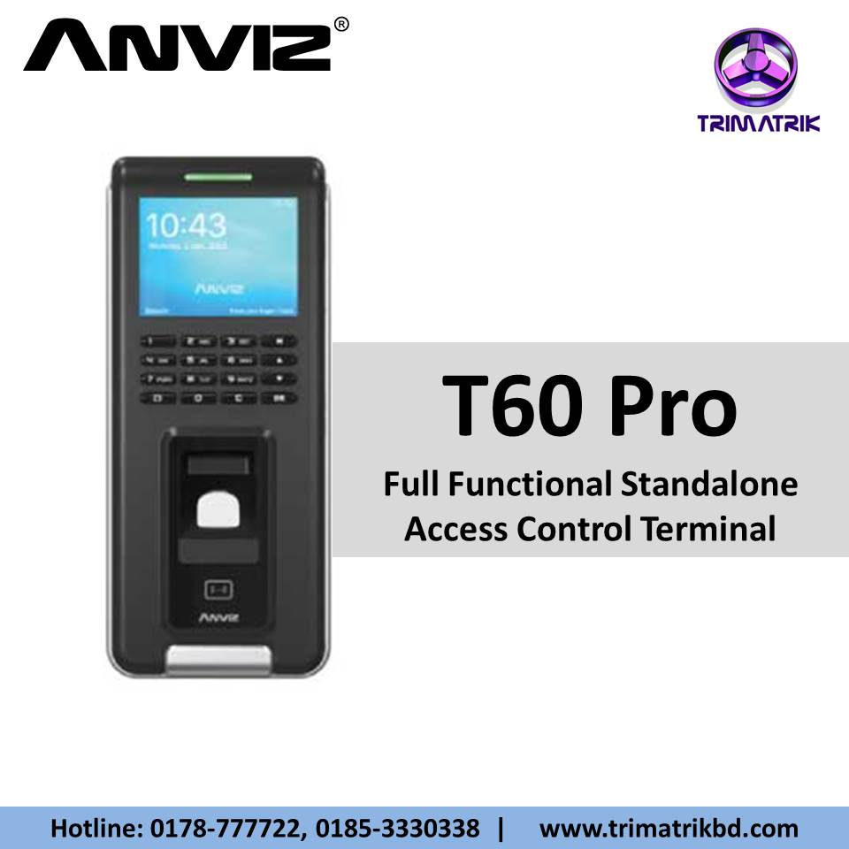 Anviz T60 Pro Bangladesh