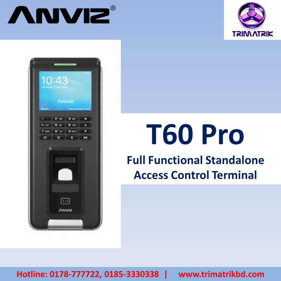 Anviz T60 Pro Price in BD
