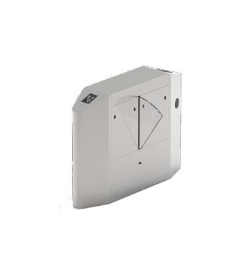FBL4222 Pro Bangladesh ZKTeco FBL4022 Pro Single Lane Flap Barrier Turnstile (w/ controller and fingerprint & RFID reader)