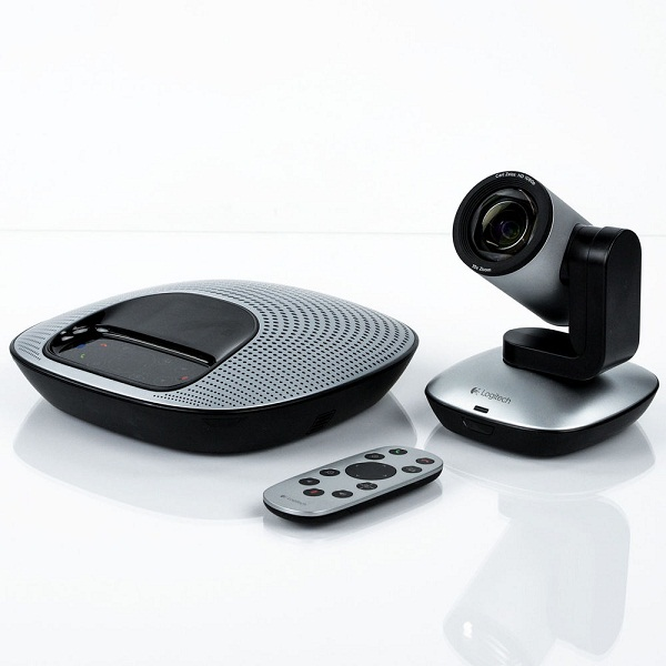 Logitech CC3000E Bangladesh Logitech ConferenceCam CC3000e All-in-One HD Video and Audio Conferencing System, 1080p Camera and Speakerphone