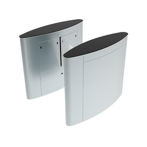 ZKTeco FBL5022 Bangladesh ZKTeco FBL4222 Pro Flap Barrier Turnstile for additional Lane (w/ controller and fingerprint & RFID reader)
