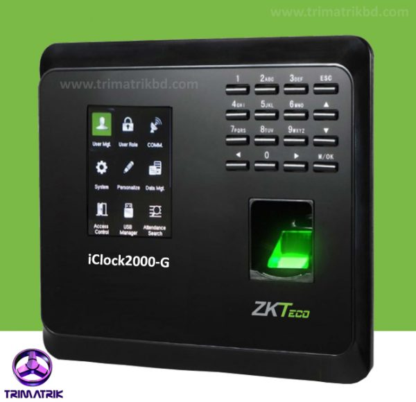 ZKTeco iClock2000-G Bangladesh, Trimatrik