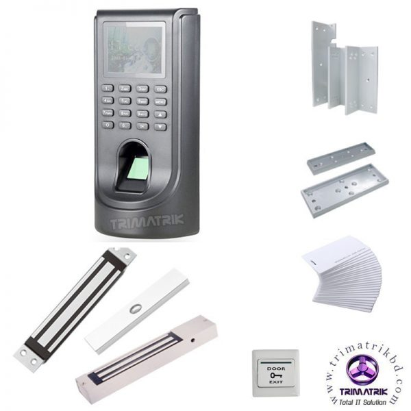 CP Plus Access Control Package 180kg Fingerprint Access Control Full Package