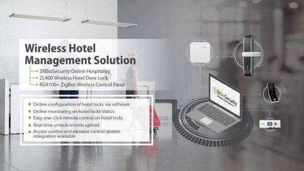 zkteco Wireless Hotel Management Solution bd 2020