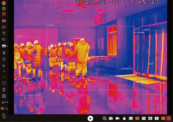JVS FRT T9 Precise Temperature Measurement Thermal Imager3