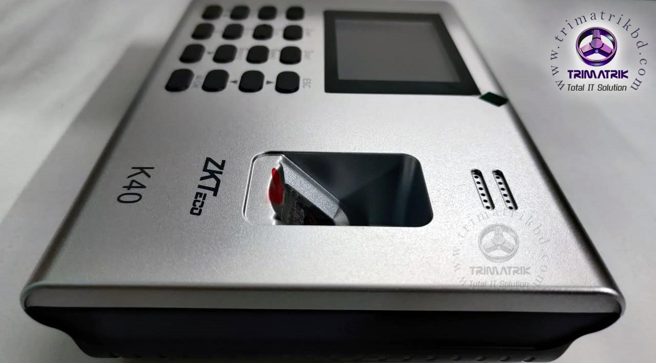 ZKTeco K40 Price in BD, Zkteco K40 Bangladesh, Trimatrik, ZKteco Bangladesh (3)