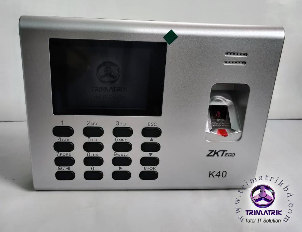 ZKTeco K40 Front Side