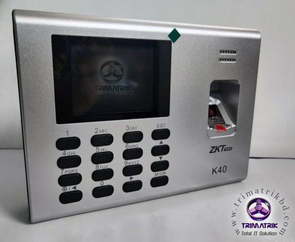 ZKTeco K40 Price in BD, Zkteco K40 Bangladesh, Trimatrik, ZKteco Bangladesh (7)
