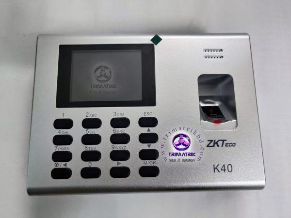 ZKTeco K40 Price in BD, Zkteco K40 Bangladesh, Trimatrik, ZKteco Bangladesh (9)