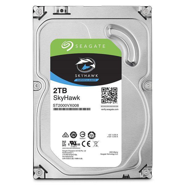 Seagate 2TB HDD BD | SkyHawk Surveillance Hard Disk Drive