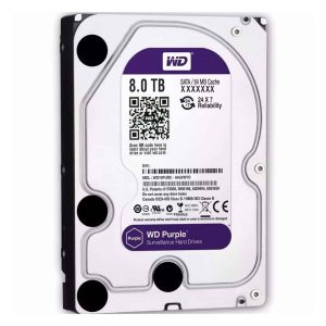 Western Digital 8TB Purple Surveillance Hard Disk Drive Bangladesh