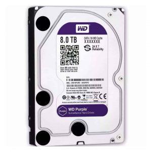 Western Digital 8TB Purple Surveillance Hard Disk Drive Bangladesh