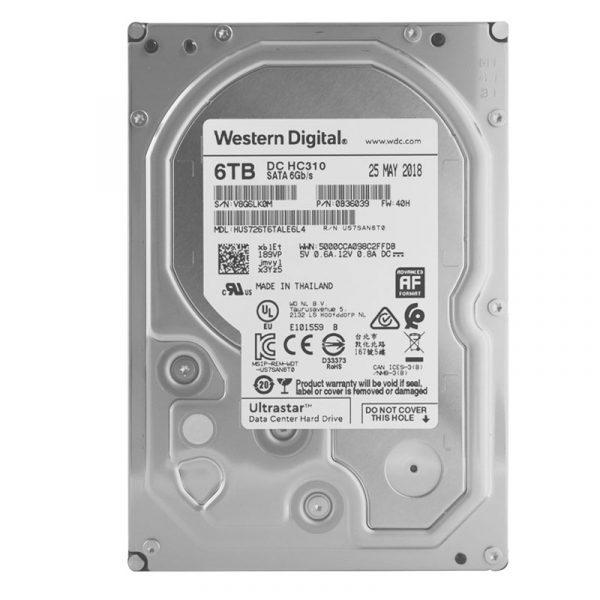 Western Digital 6TB Ultrastar Data Center Hard Drive (DC-HC310)