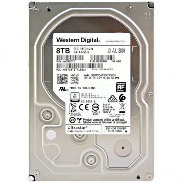 Western Digital 8TB Ultrastar Data Center Hard Drive (DC-HC320)