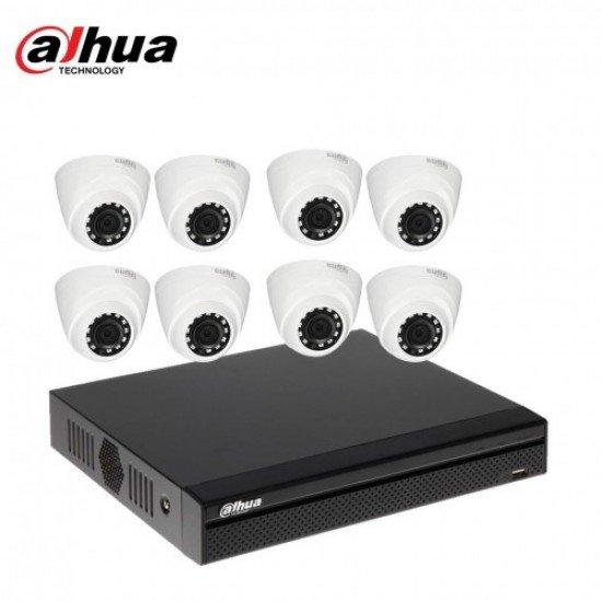 Dahua 8 CCTV Camera Package in Bangladesh