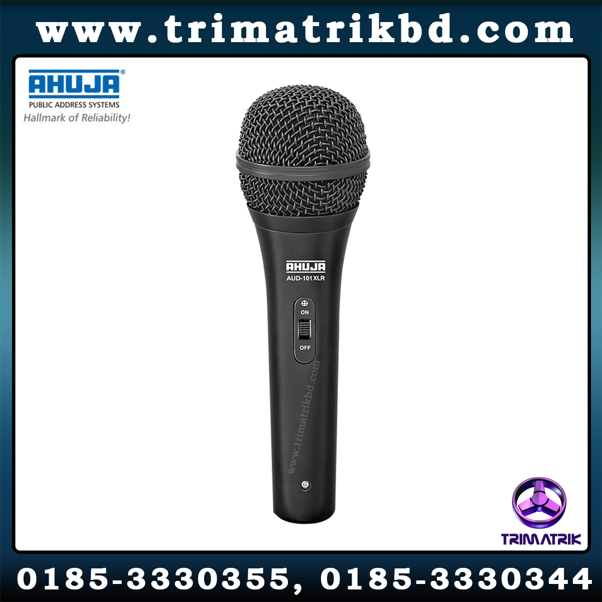 Ahuja AUD-101XLR Price in BD
