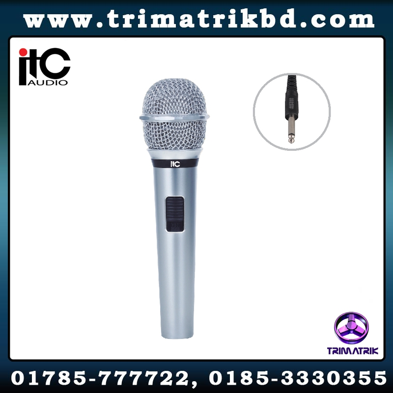 ITC TS-331 Bangladesh, ITC TS-331 Price in Bangladesh, Wired Handheld Microphone in BD