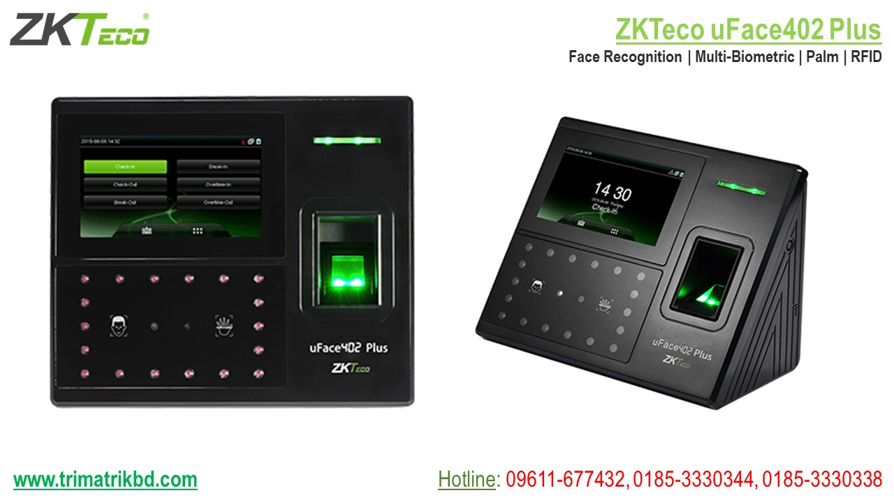 ZKTeco uFace 402 Plus Price in Bangladesh