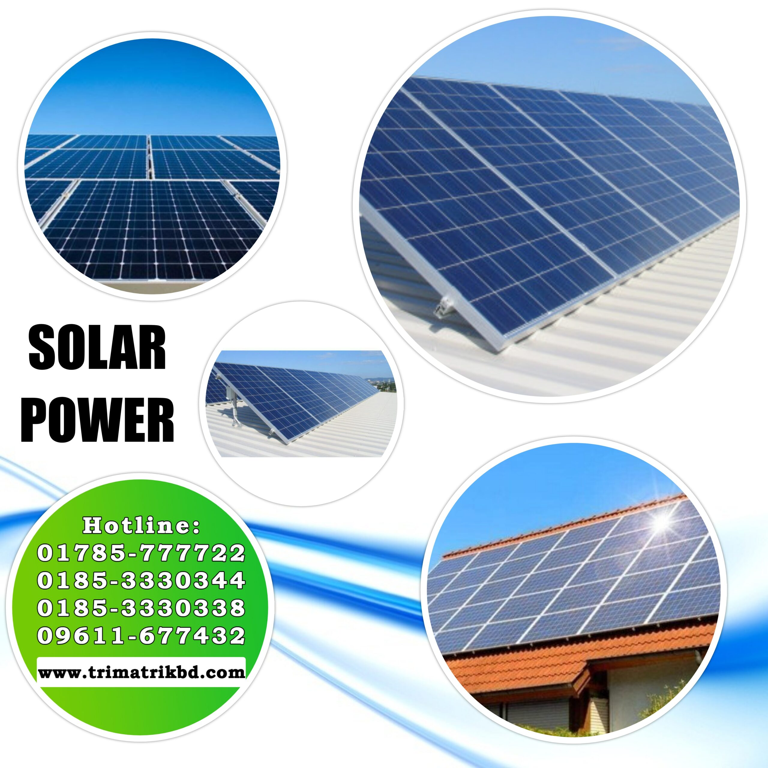 Industrial 20KW Solar Power System in Bangladesh